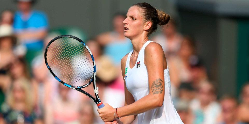 Плишкова возглавила рейтинг WTA, Шарапова поднялась на 9 мест