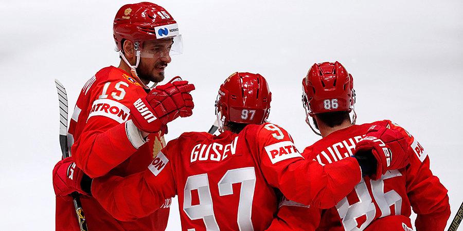 Старт чемпионата мира. Россия победила норвежцев, Канада проиграла финнам. Все голы здесь