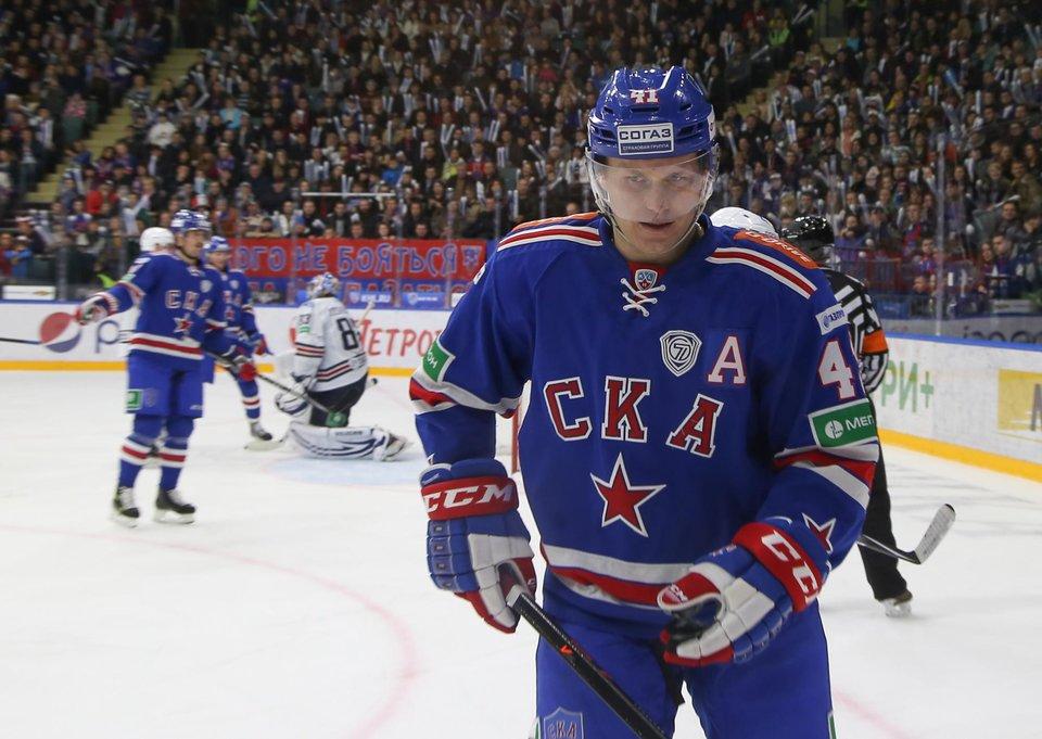 КХЛ подтвердила переход Торесена в СКА