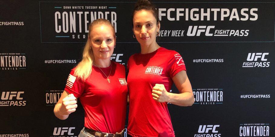 В UFC теперь дерутся две сестры. И они говорят на русском