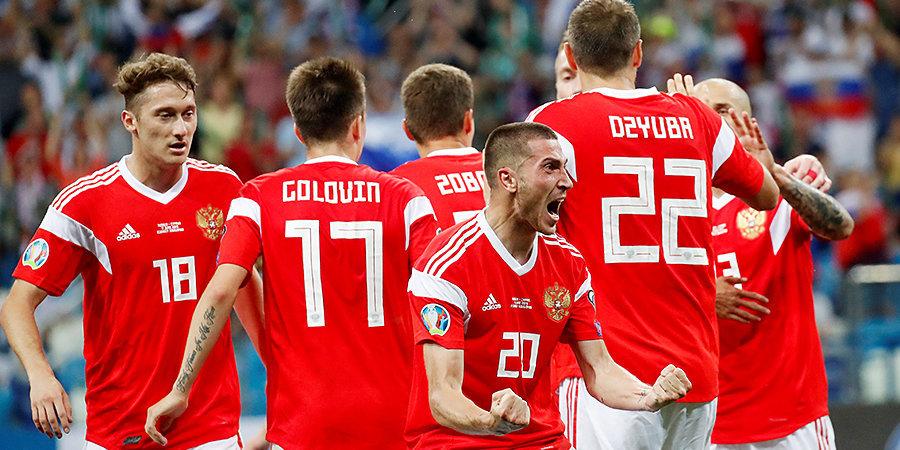 Россия забила Кипру всего один. Гол Ионова и лучшие моменты