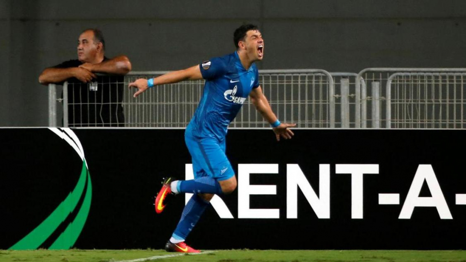 «Зенит» победил «Дандолк» и гарантировал себе место в плей-офф Лиги Европы