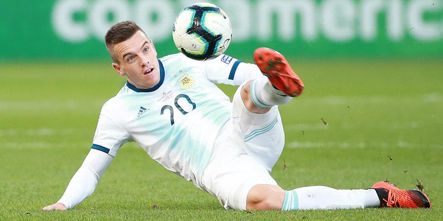 Полузащитник «Тоттенхэма» получил травму в расположении сборной Аргентины