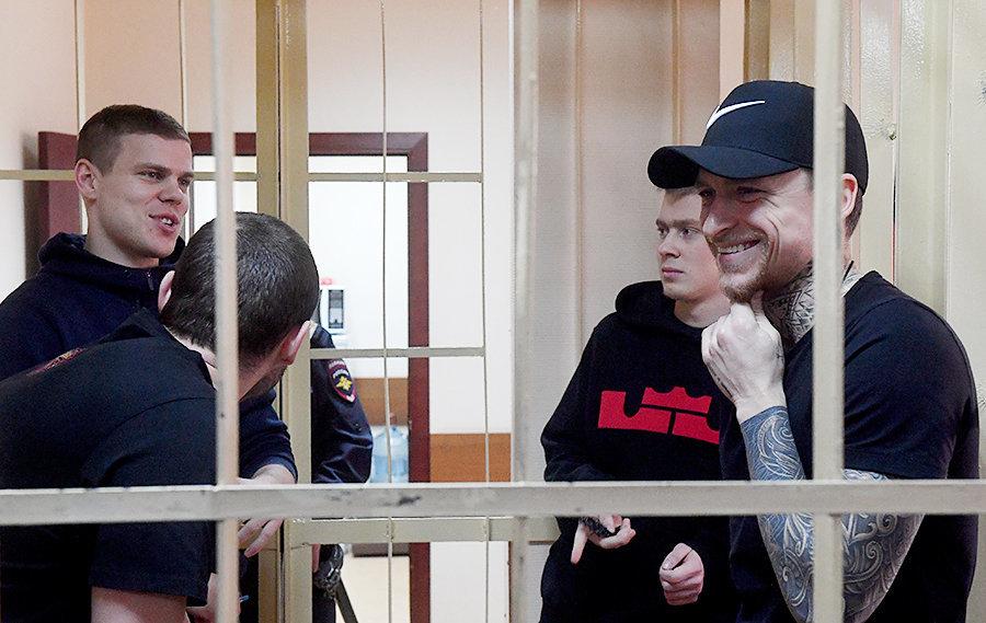 Кокорин и Мамаев потратили почти 400 тысяч рублей в день драки