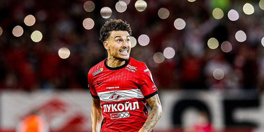 Ларссон признан лучшим игроком матча «Спартак» — «Локомотив»