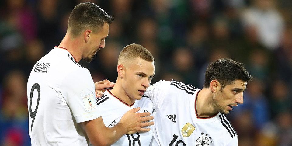 На тренировке сборной Германии произошла потасовка