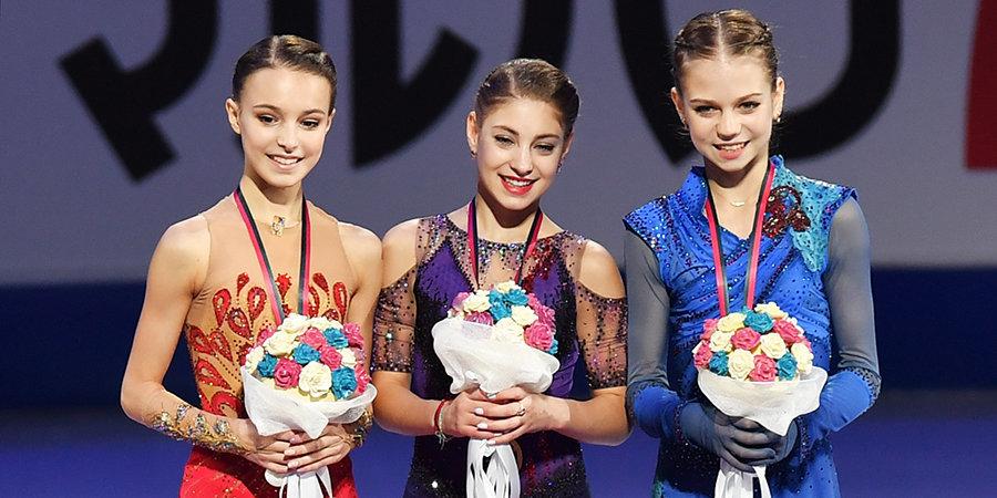 Анна Щербакова: «В прошлом году мы везде ездили втроем, одна соревноваться я отвыкла. Надо как-то уметь разделять дружбу и соревнования»