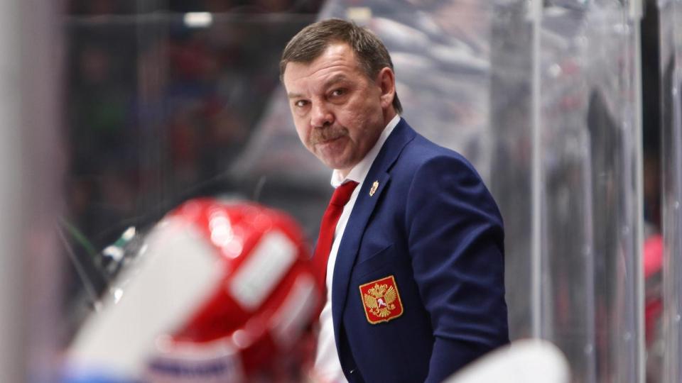 Знарок объявил состав сборной России на Швецию