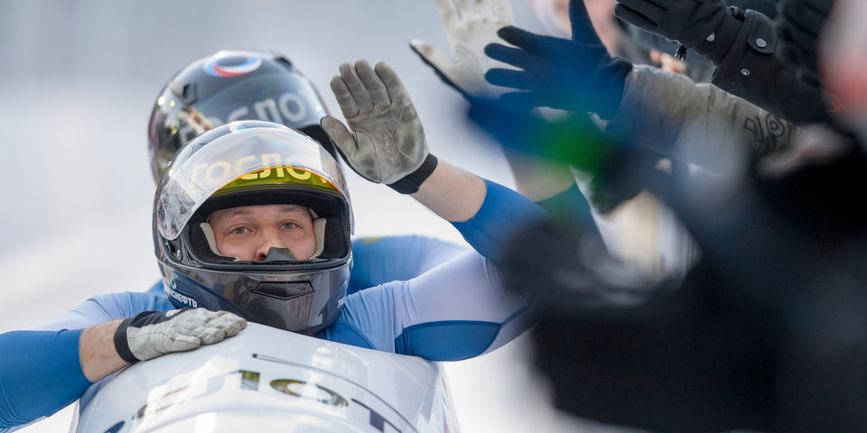 Бобслеист Белугин получил двухлетнюю дисквалификацию за применение допинга на ОИ-2014