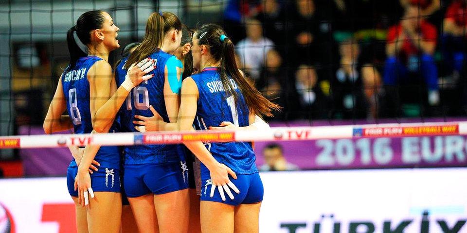 Российские волейболистки потерпели третье поражение подряд в рамках Гран-при