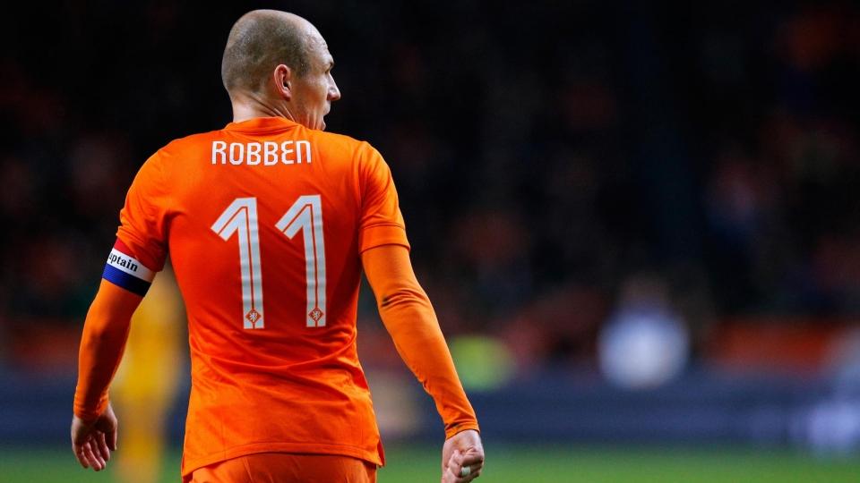 Роббен завершил карьеру в сборной Нидерландов