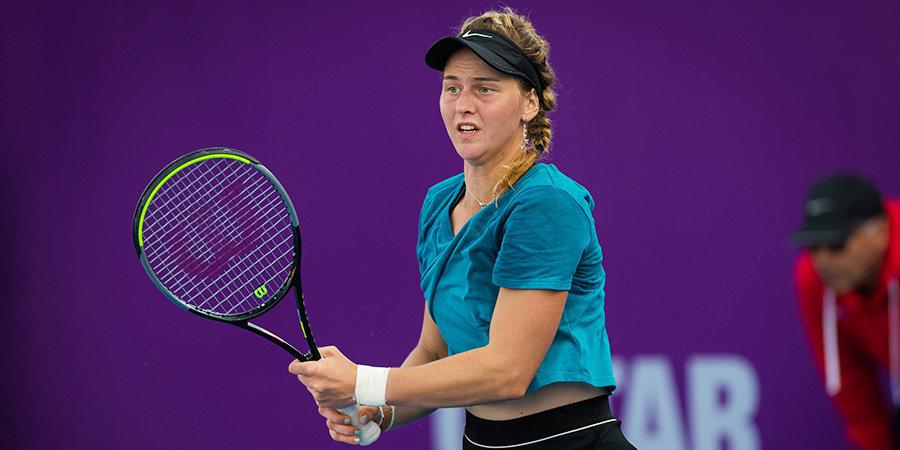 Самсонова уступила в первом круге US Open
