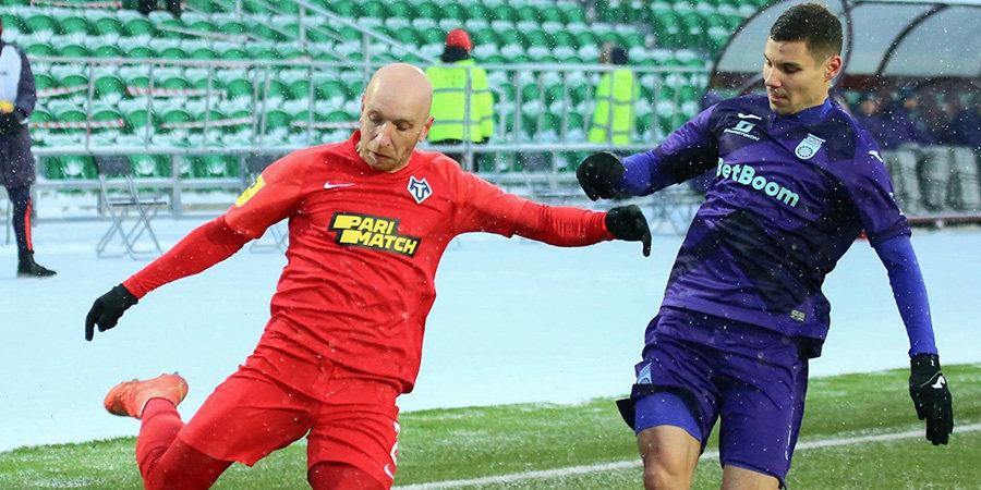 «Уфа» разгромила «Тамбов», прервав 13-матчевую серию без побед