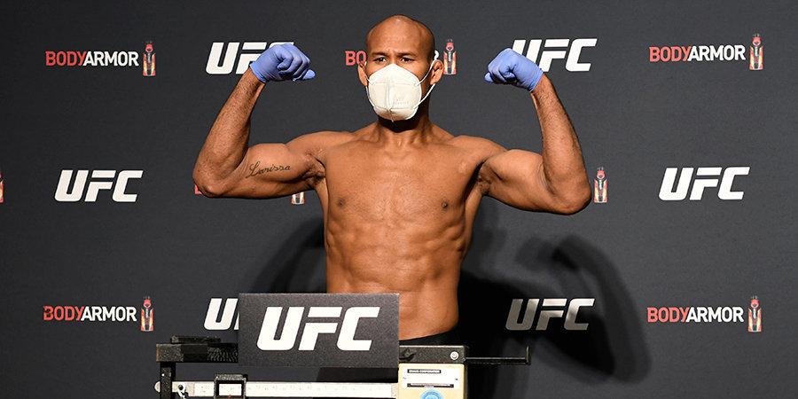 Боец UFC заразился коронавирусом за сутки до боя. Турнир могут отменить?