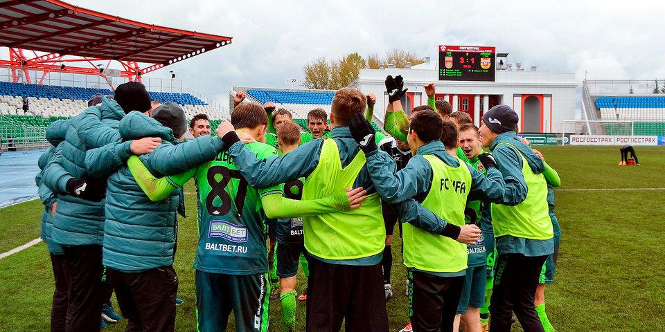 Молодежная команда «Уфы» переиграла сверстников из «Арсенала»