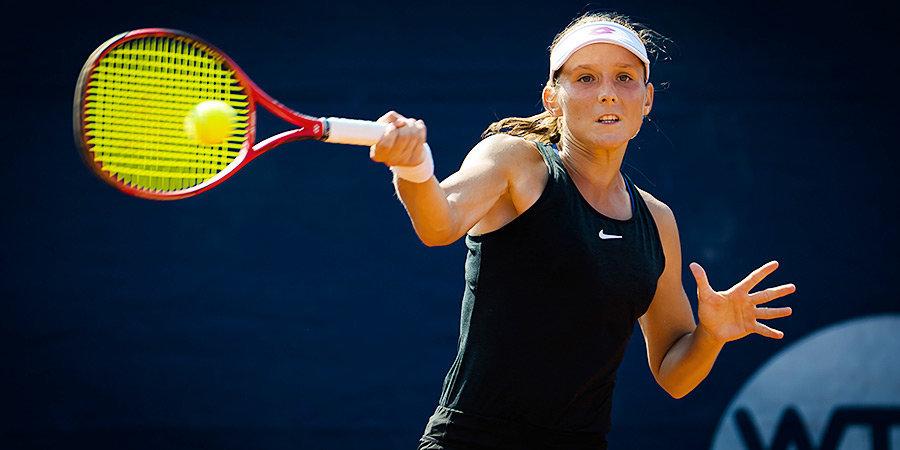 Грачева вышла во второй круг турнира в Линце