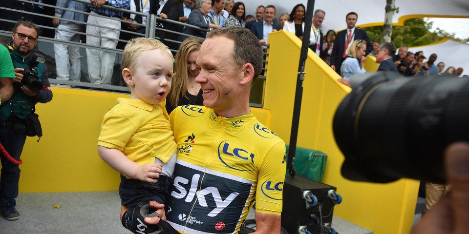 Фрум в четвертый раз стал победителем «Тур де Франс»