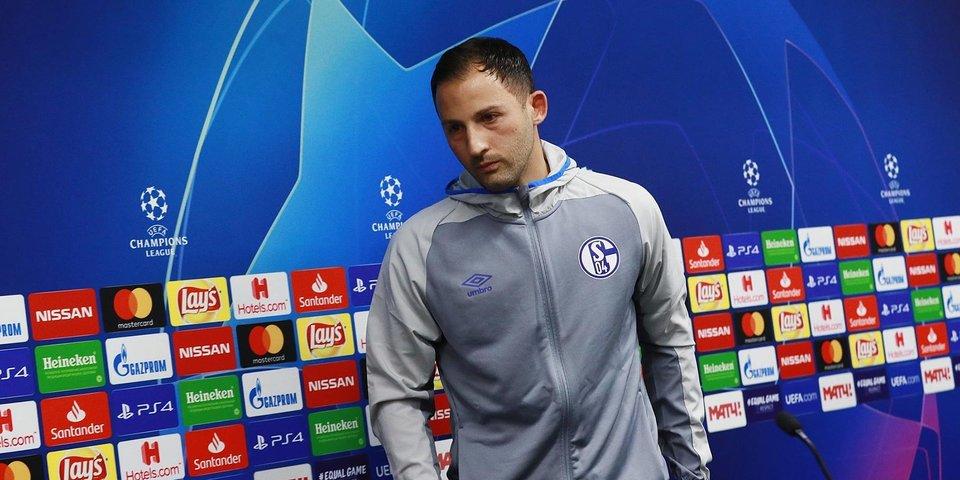 «Шальке» уволил главного тренера после разгрома от «Ман Сити»