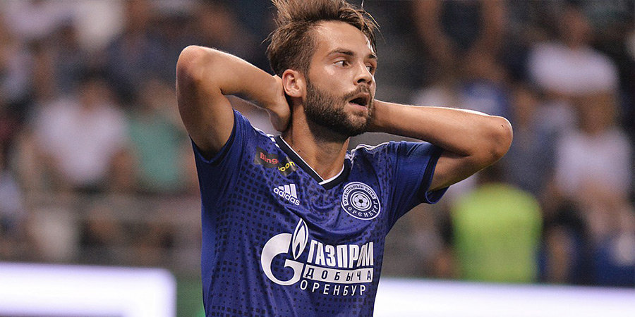 «Чайка» объявила о переходе Кулишева, Палиенко отправился в «Оренбург»