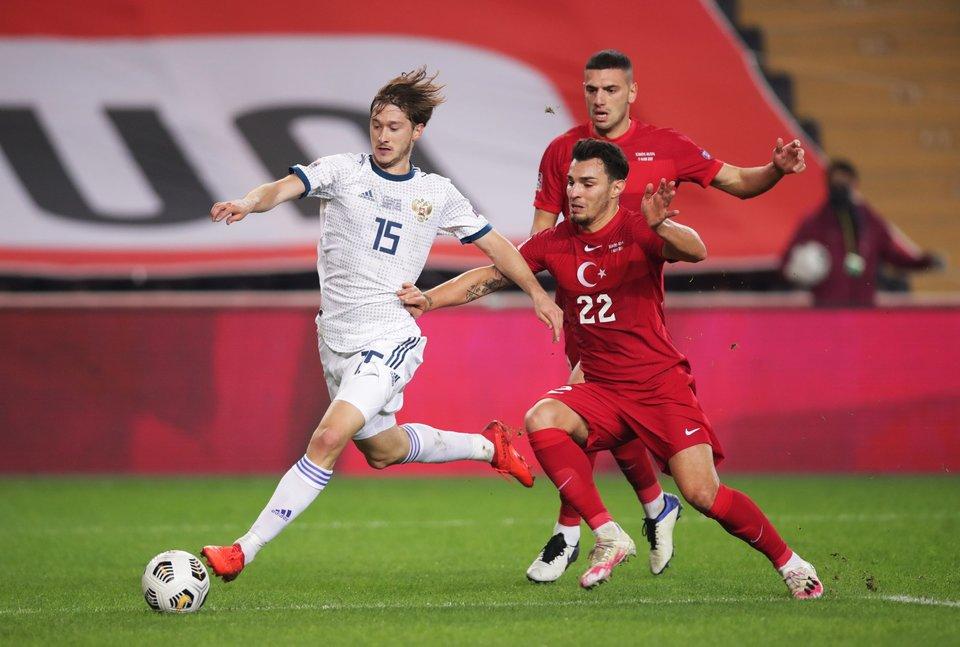 Андрей Аршавин: «Россия была лучше Турции, но отрезок после красной карточки выбил команду из колеи»