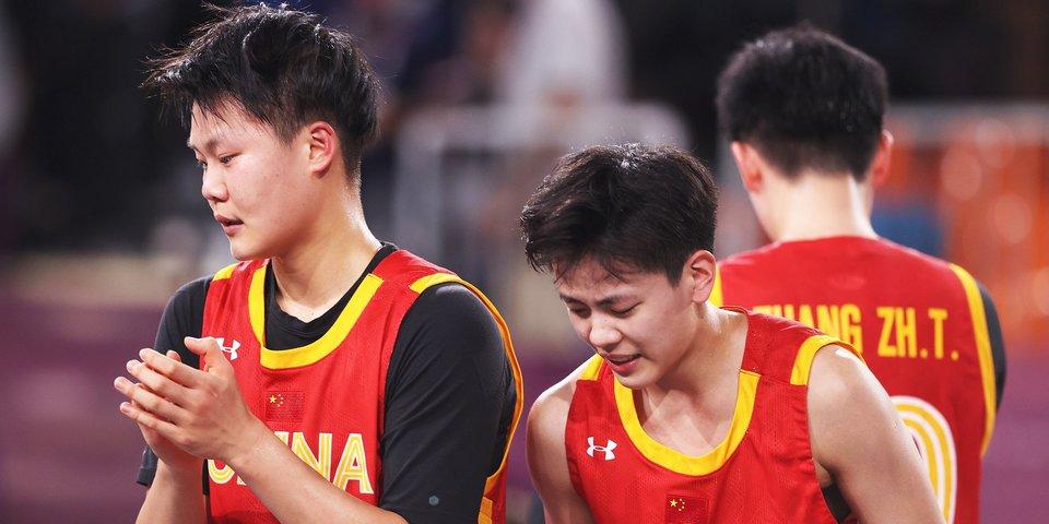 Китайские баскетболистки 3х3 завоевали бронзовые медали Олимпиады
