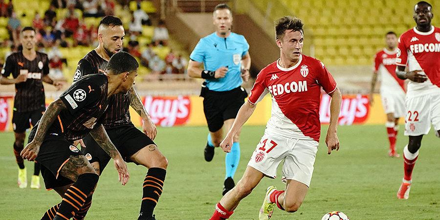 Головин попал в заявку «Монако» на ответный матч ЛЧ с «Шахтером»