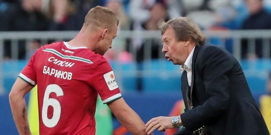 Дмитрий Баринов: «Благодаря Палычу стал игроком, в котором видят потенциал и в «Локо», и в сборной»