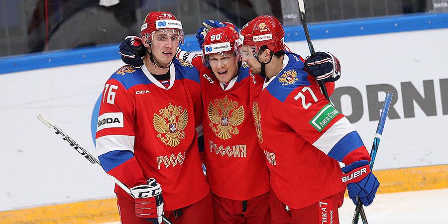 «Говорил Чибису —  дай мне пораньше, а то завалимся за «синюю», вся страна будет смеяться!» Обсуждаем победу со сборной России