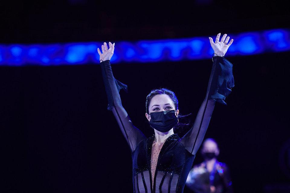 Елизавета Туктамышева: «Насладилась выступлением. Мне кажется, это было видно по тому, как я каталась»