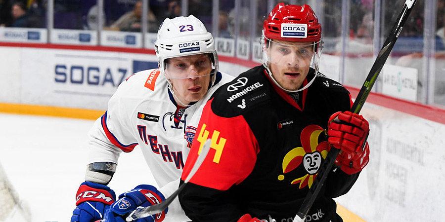 «Йокерит» разгромил СКА, «Спартак» проиграл в столичном дерби, Зернов провел первый матч в сезоне. Итоги недели КХЛ