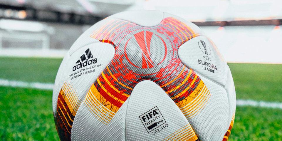 УЕФА представил новый мяч Лиги Европы