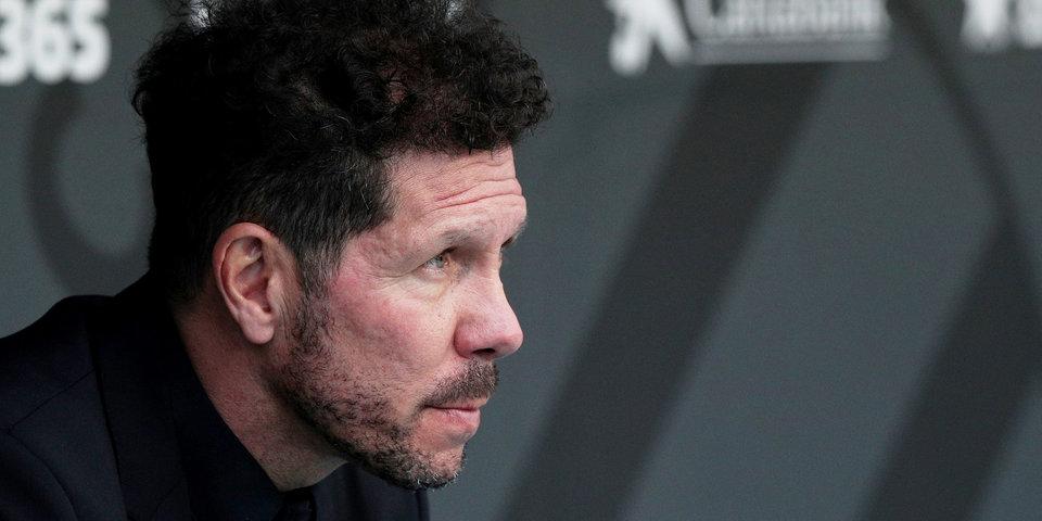 Диего Симеоне: «Горжусь игроками, которые покидают «Атлетико»