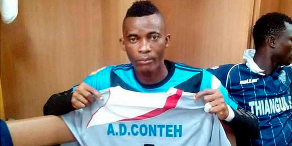 Голкипер сборной Сьерра-Леоне скончался в возрасте 25 лет