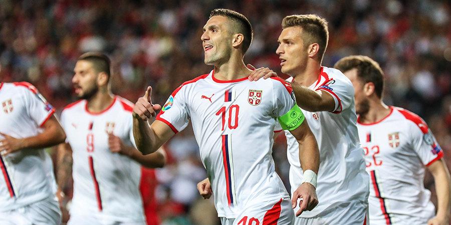 Душан Тадич: «Надеюсь, сможем победить сборную России»