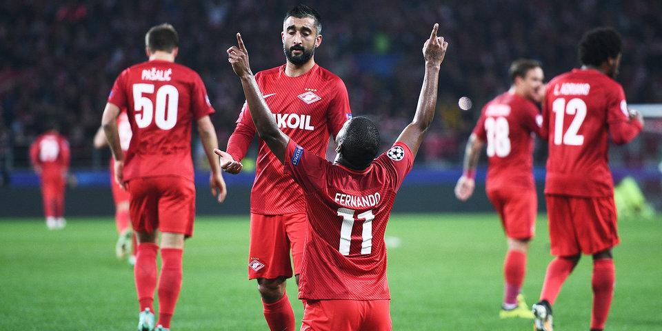 Мяч Фернандо в ворота «Ливерпуля» – в тройке лучших голов недели в Лиге чемпионов