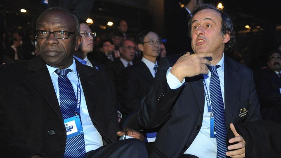 В ФИФА прокомментировали задержание Платини
