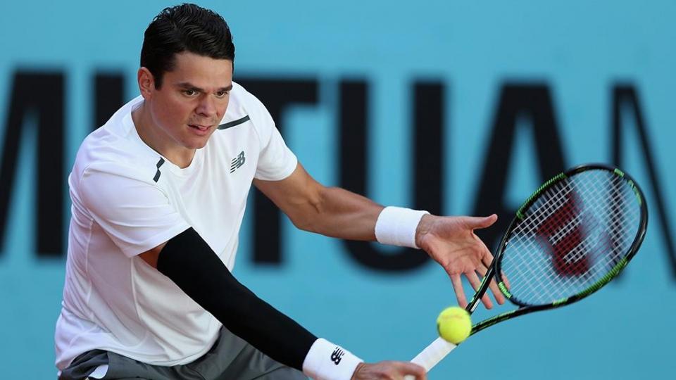Раонич пропустит US Open из-за травмы запястья
