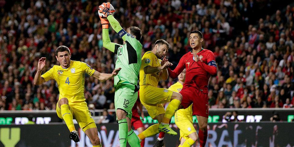 СМИ: Сборной Украины грозит два технических поражения в отборочных матчах Евро-2020