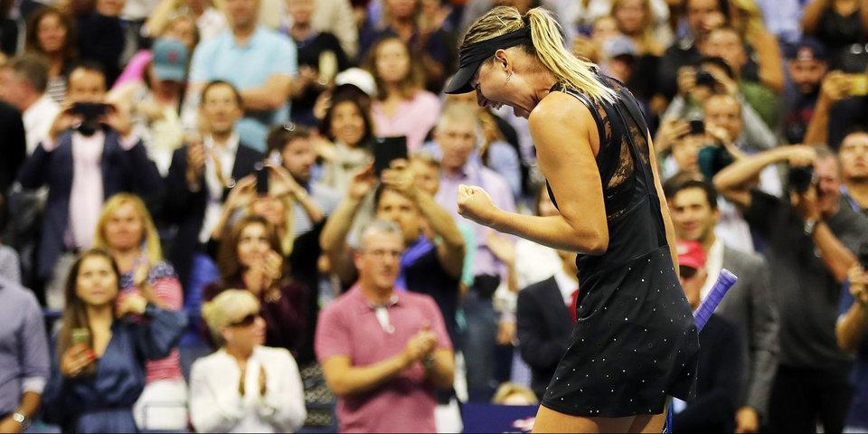 Шарапова одолела вторую ракетку мира под овации трибун на US Open