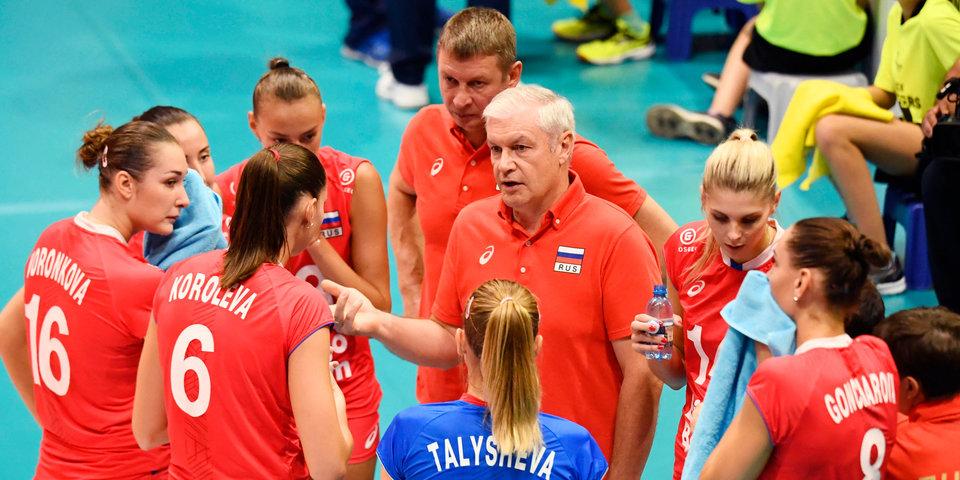 Женская сборная России потерпела четвертое поражение в Лиге наций, уступив Японии