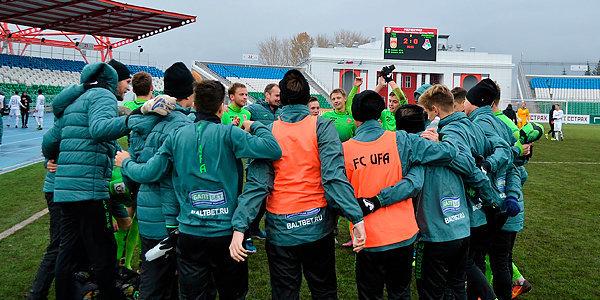 «Уфа» оказалась сильнее «Локомотива» в молодежном первенстве