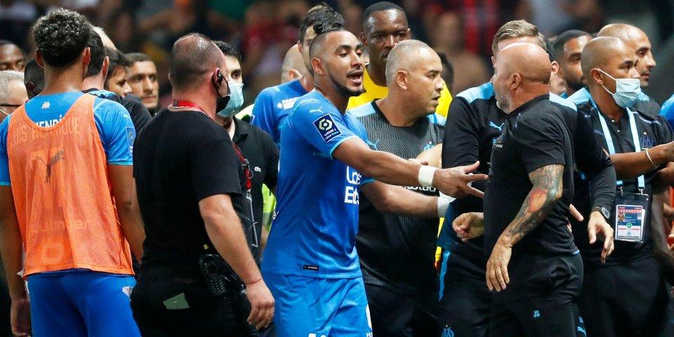 Президент «Ниццы» высказался о массовой потасовке фанатов с игроками в ходе матча против «Марселя»