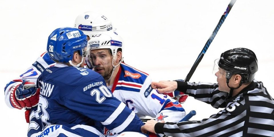 Самый грубый матч плей-офф КХЛ