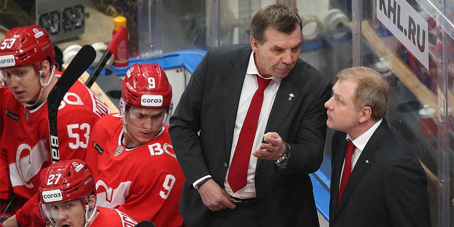 ФХР согласовала кандидатуру Жамнова на должность главного тренера сборной России