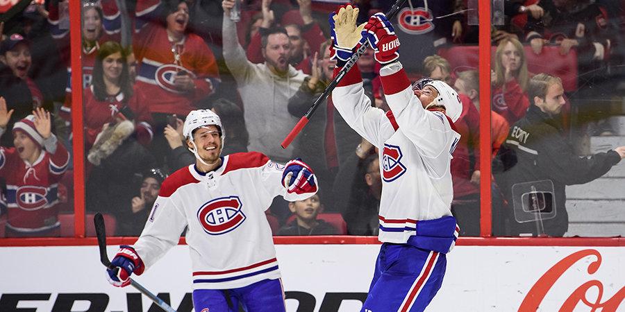 Ковальчук принес победу «Монреалю», Василевский вновь отыграл «на ноль», Барбашев набрал два очка. Обзор дня НХЛ