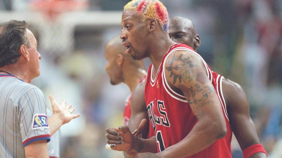 Пятикратный чемпион НБА Родман приговорен к трем годам тюрьмы