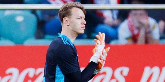 Радимов считает голкипера Сафонова безальтернативным вариантом для сборной России в матче с Данией