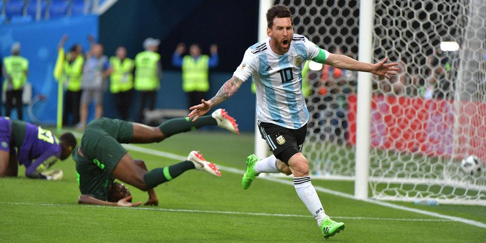 Аргентина обыграла Нигерию и вышла в плей-офф. 2:1. Голы и лучшие моменты