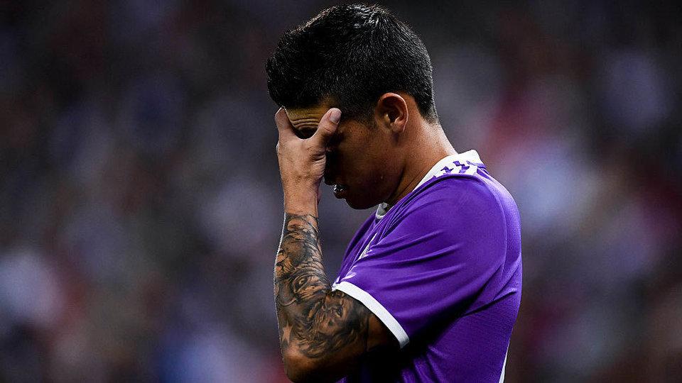 Хамес Родригес: «В «Реале» есть люди, которые много командуют, и я ничего не могу сделать»