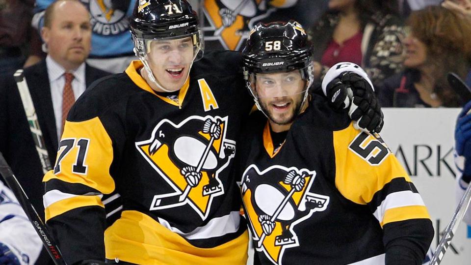 Малкин помог «Питтсбургу» победить «Виннипег», Кросби набрал 1000-е очко в НХЛ